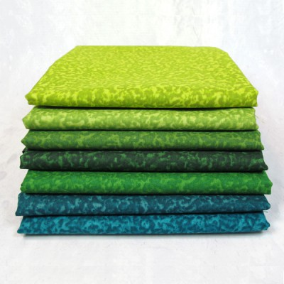 Green Fabrics by In the Beginning Fabrics